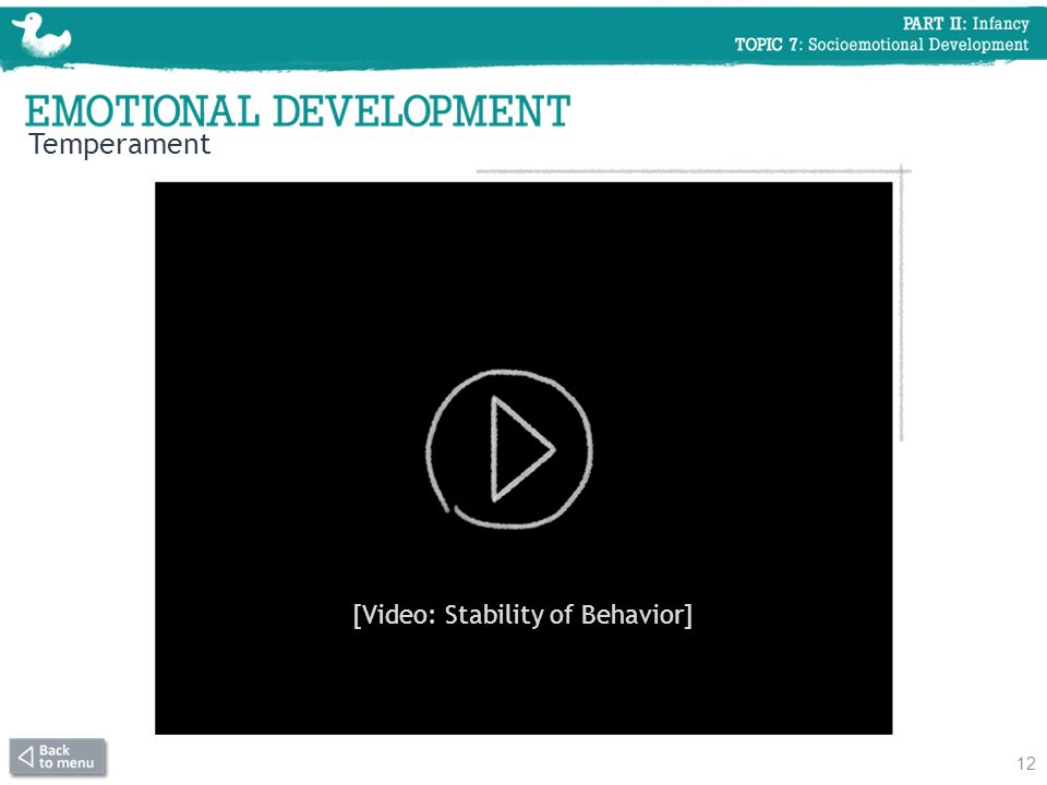 [Video: Stability of Behavior]